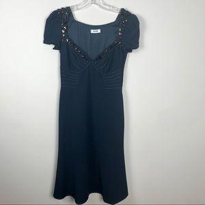 Moschino Navy Dress.
